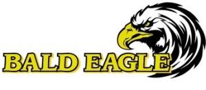 150_bald eagle sportfishing large logo yellow letters